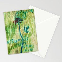 Azul Corriendo con una Memoria Stationery Cards