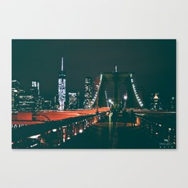 Hello Brooklyn Canvas Print