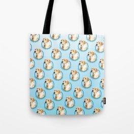 Labrador Retriever Print Tote Bag