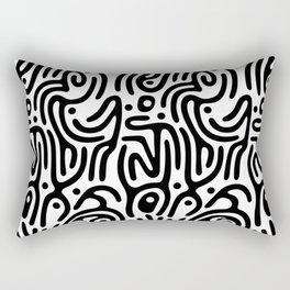 Identity Pattern Rectangular Pillow