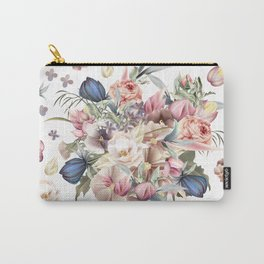Spring mood illustration with roses Carry-All Pouch