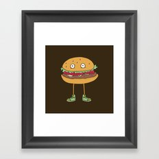 Food w/ Legs - No. 2 Framed Art Print