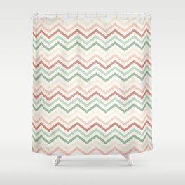 Retro 60 - Third Wave Shower Curtain