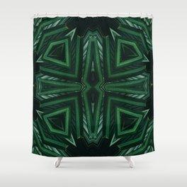 Kaleido Palm Shower Curtain
