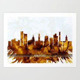 Bradford England Skyline Art Print