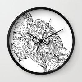 Jacked Chicken Wall Clock