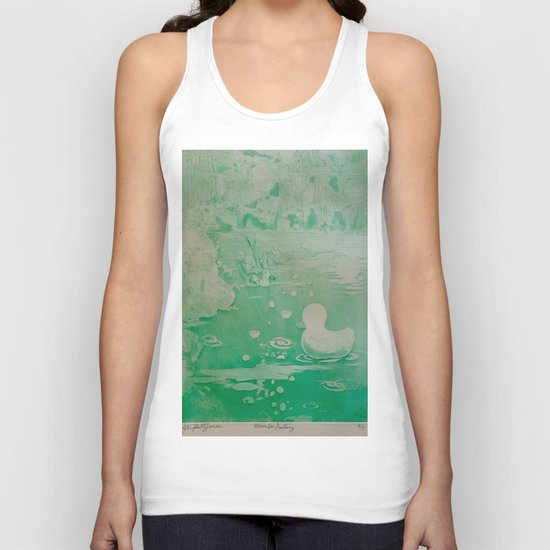 MoonSea Fantasy lightgreen Unisex Tank Top