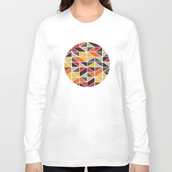 African Tribal Pattern No. 3 Long Sleeve T-shirt