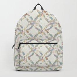 Wedding Ring Quilt Block Multi Backpack