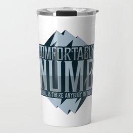numb black Travel Mug