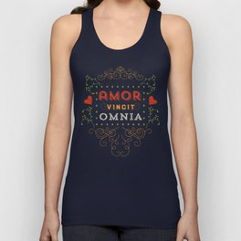 Love Conquers All Unisex Tank Top