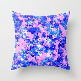 Crash Palette Throw Pillow