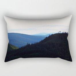 Chic-Choc Mountains Rectangular Pillow