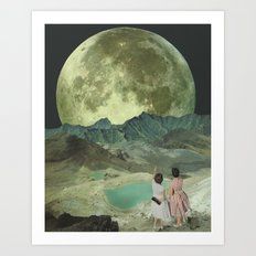 The last of the Supermoons Art Print