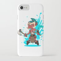 dota iPhone & iPod Cases featuring Troll Warlord by Angxix