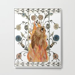 Midsommar Scorched Earth Metal Print