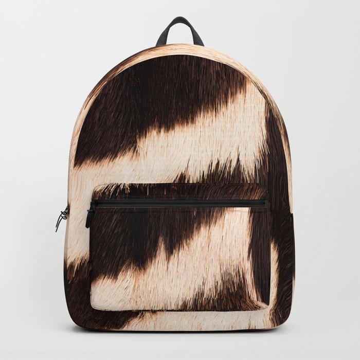 Zebra - zebra stripes -zebra skin - genuine - beautiful - #society6 #buyart Backpack