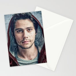 Stiles and his Red Hoodie Stationery Cards