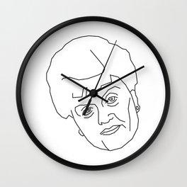 Jessica Fletcher (Murder She wrote) Wall Clock