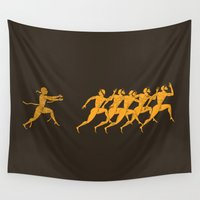 greece Wall Tapestries featuring Ancient Greece by ispman