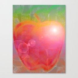 Teacher's Apple Canvas Print