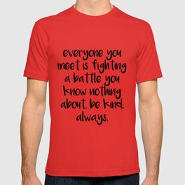 SKAM - Everyone you meet is fighting a battle you know nothing about T-shirt
