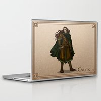 valar morghulis Laptop & iPad Skins featuring Orome by wolfanita