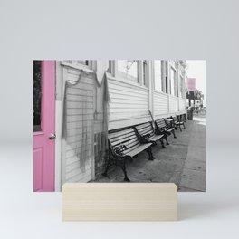 Provincetown, Cape Cod, in Pink Mini Art Print