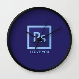 PS I LOVE YOU Wall Clock