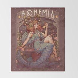 BOHEMIA Throw Blanket