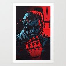V Has Come To Art Print