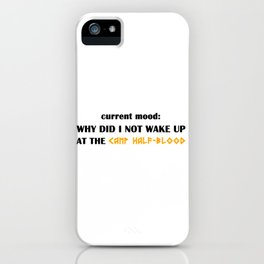 Camp Half-Blood (Percy Jackson) iPhone Case
