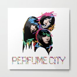 Perfume City by Borghie Metal Print