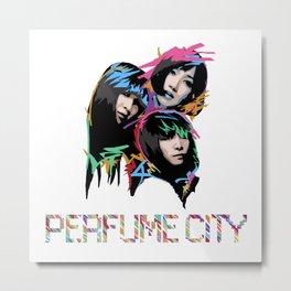 Perfume City by Borghie Metal Print