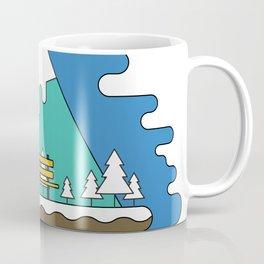 Boat Illustration Coffee Mug
