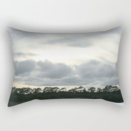 crack in the sky Rectangular Pillow