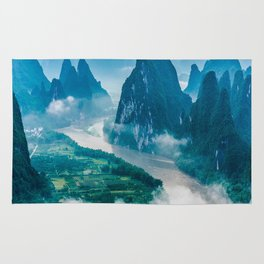 Li River in Guilin China 2 Rug