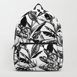 Black and White Paradise Backpack