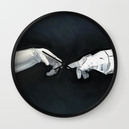 Cosmic Touch Wall Clock