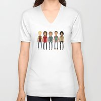 cargline V-neck T-shirts featuring Christmas Sweaters by cargline