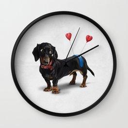Butt (Wordless) Wall Clock
