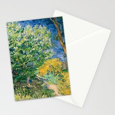 Lilacs by Vincent van Gogh Stationery Cards