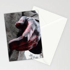 Lenin's hand Stationery Cards