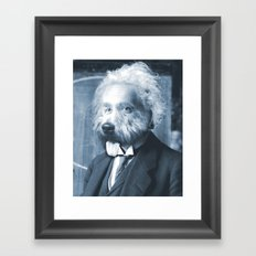 Albie Einstein Framed Art Print