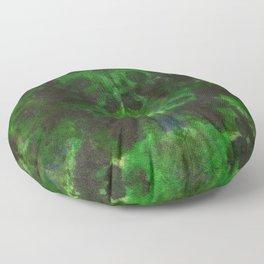 Evergreen DyeBlot Floor Pillow
