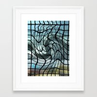 vertigo Framed Art Prints featuring Vertigo by Jose Luis