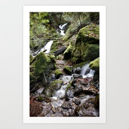 Cataract Falls Art Print