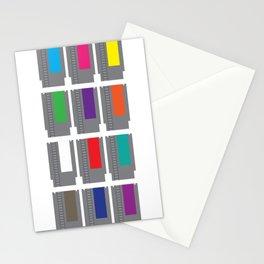 8-BIT Cartridges Stationery Cards