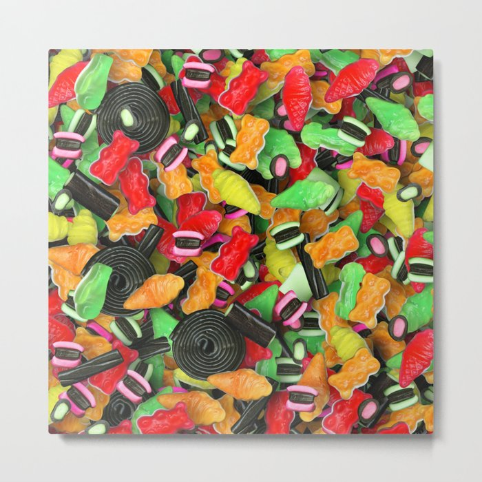Candy 8 Metal Print