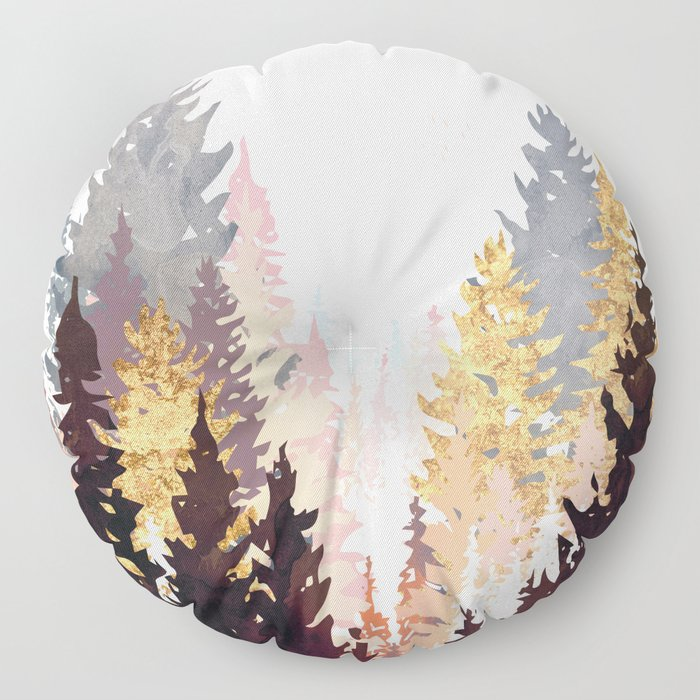 Wine Forest Floor Pillow